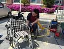 장애주간행사 휠체어 무…